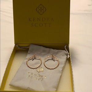 Kendra Scott Charlie Grace Rose Gold earrings